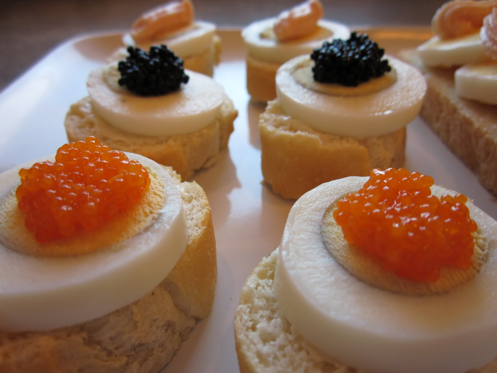 How to make caviar sandwiches 99