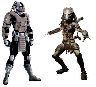 Kuriosidades juegos Mortal Kombat Smoke+predator