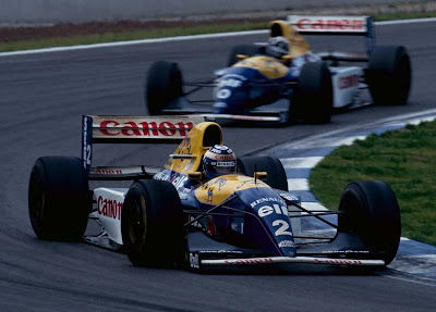Equipe Williams de Formula 1 de 1993 - papaleguasgt.blogspot.com