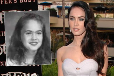 Megan Fox Yearbook Picture