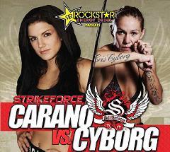Carano vs Cyborg Santos live stream