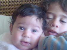 Jamila 2 months old, Mamdouh 3 years old