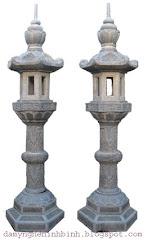 đèn đá lục lăng