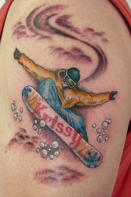Further Adventures in the Wonderful World of Snowboarding Tattoos