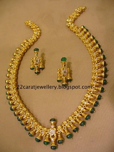 22 carat Indian Traditional JewelleryNakshi Jewellery