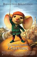 Filme O Corajoso Ratinho Despereaux em 3gp