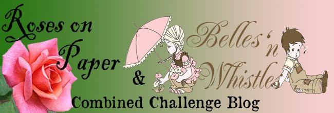 Roses on Paper Challenge Blog