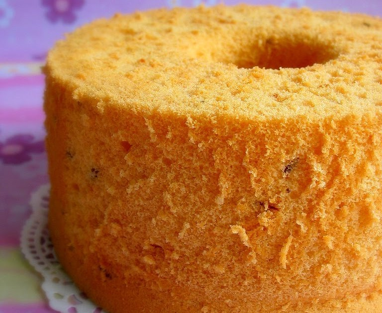 Best Ever Lemon Chiffon Cake