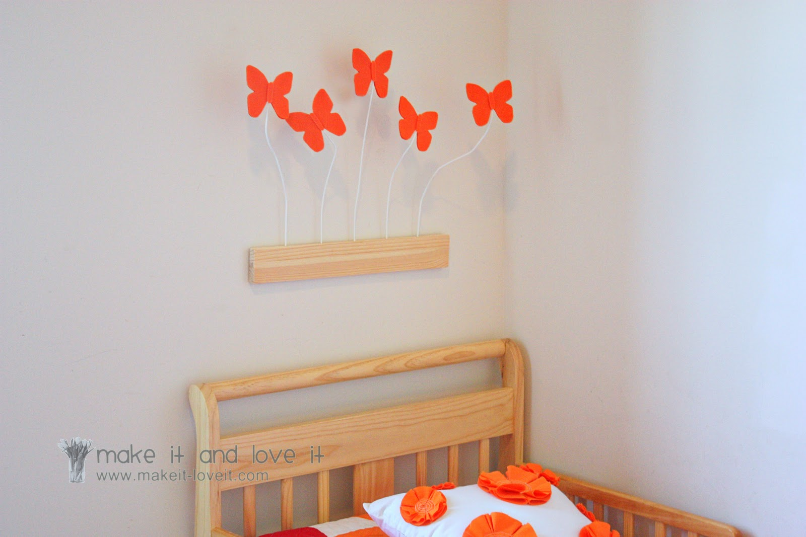 Decorate My Home, Part 25 : 3D Butterfly Wall Display .