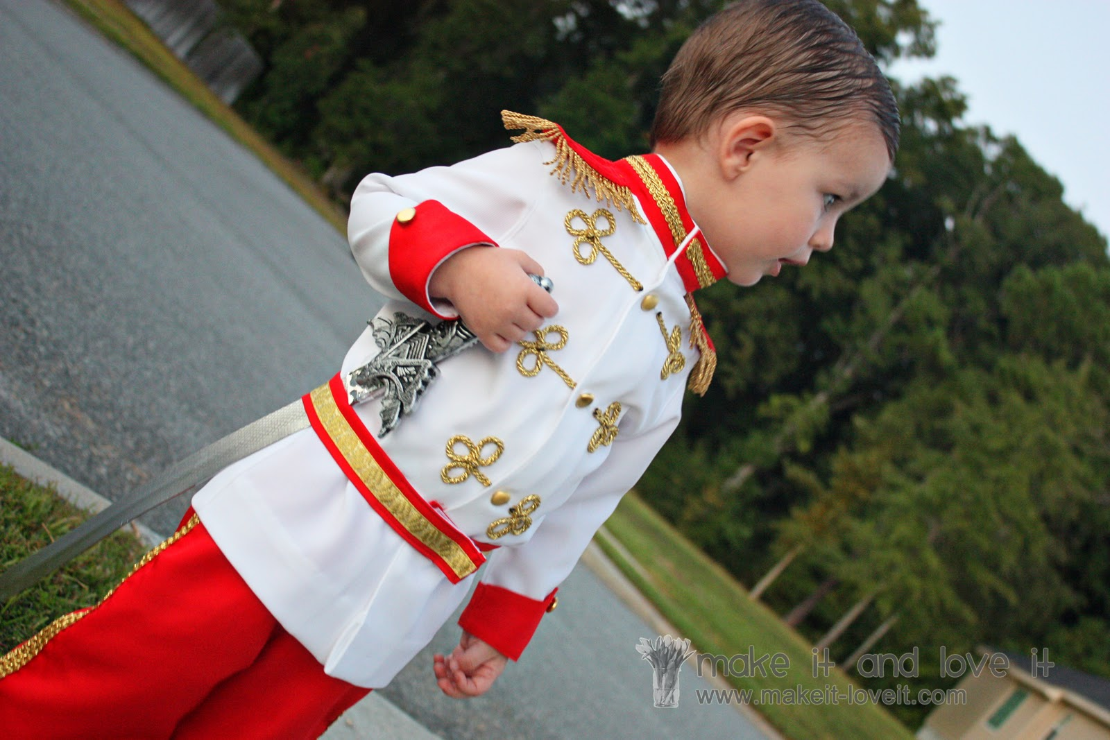 Prince charming costume tutorial from cinderella make it and love it solutioingenieria Images