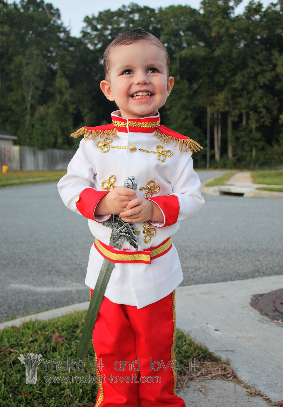 prince charming costume tutorial from cinderella