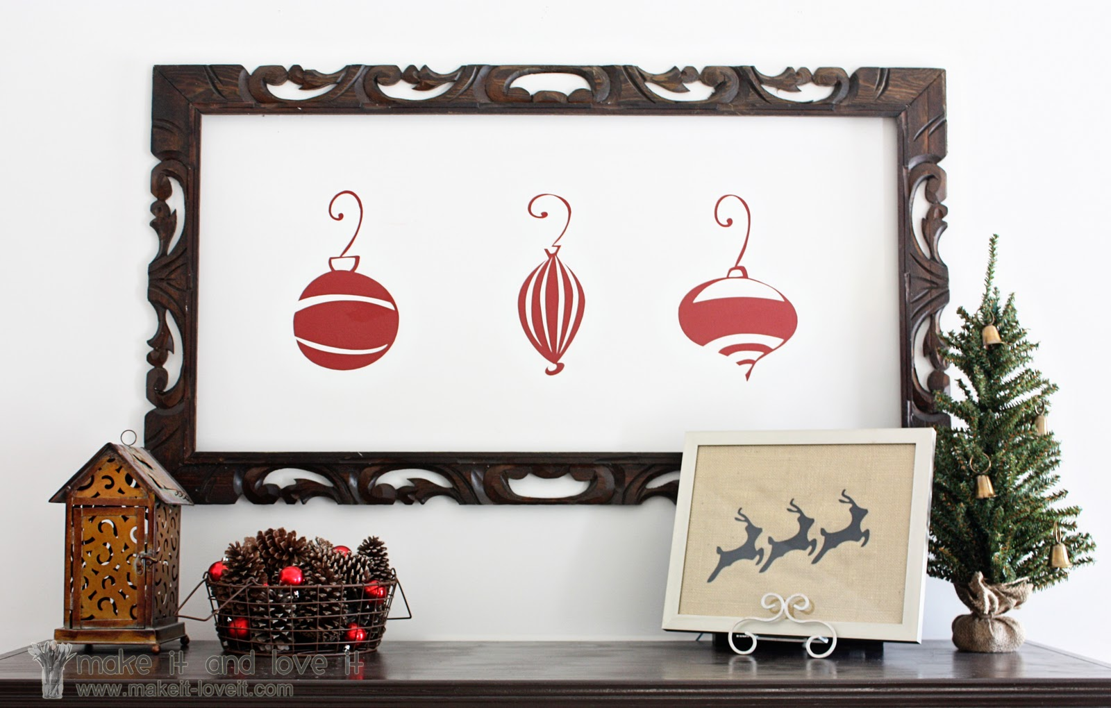 simple christmas decor - Cute Homemade Christmas Decorations