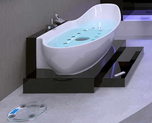 high tech bathtubs home improvement