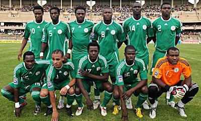 nigeria, rival de argentina en el grupo B de sudafrica 2010