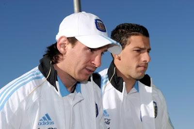 llegada seleccion argentina a sudafrica 2010