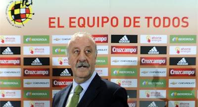 del bosque prohibe a jugadores españoles usar twitter y facebook