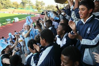 sudafrica 2010, fotos de simpatizantes, hinchas y fanáticos, las mejores fotos