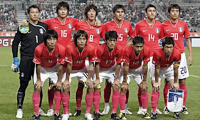 corea del sur o república de corea, rival de argentina en sudafrica 2010