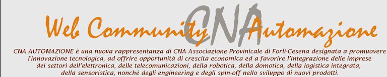 Web Community CNA Automazione
