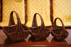 Set of three baskets