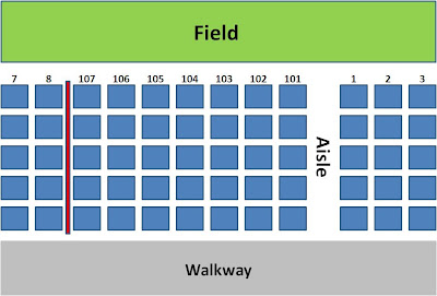 Tales from aisle 424 a cubs blog finding the right seat 101