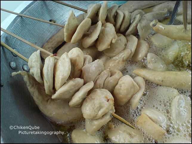Street food tempura and fish balls definitely pinoy for Chinese fish balls