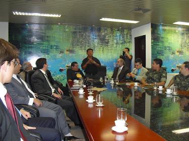 Reunião com o CNJ