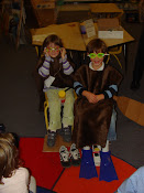 Look At The Beaver and Muskrat That Visited Kindergarten Today!