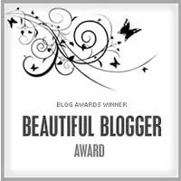 Beautiful Blogger Award Badge