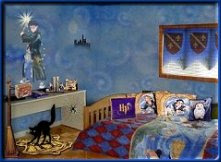 Hogwarts Harry Potter Bedroom Idea Blue