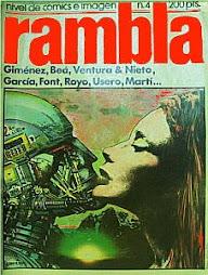 Rambla: El nivel del comic español