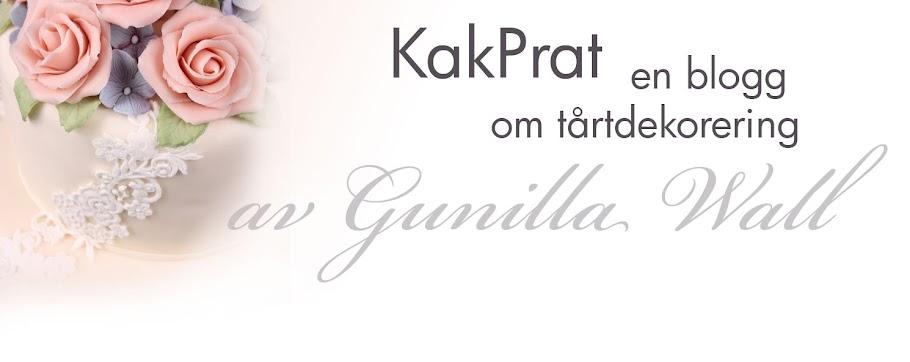 KakPrat - om tårtdekorering