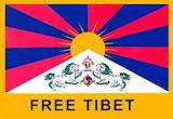 Este gato esta a favor de un tibet libre.