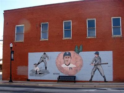Ty Cobb mural