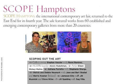 Eileen at SCOPE Hamptons
