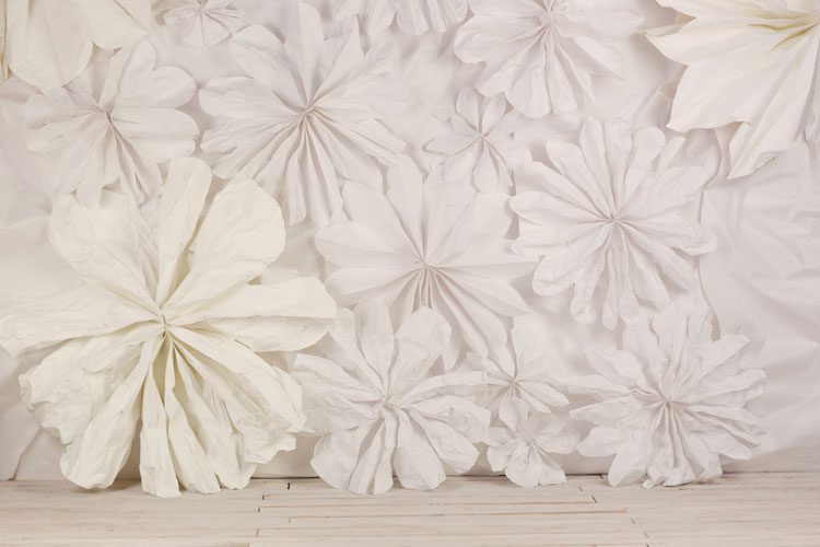 Wall Decoration Paper Flowers : Decor thoughts floral wall background