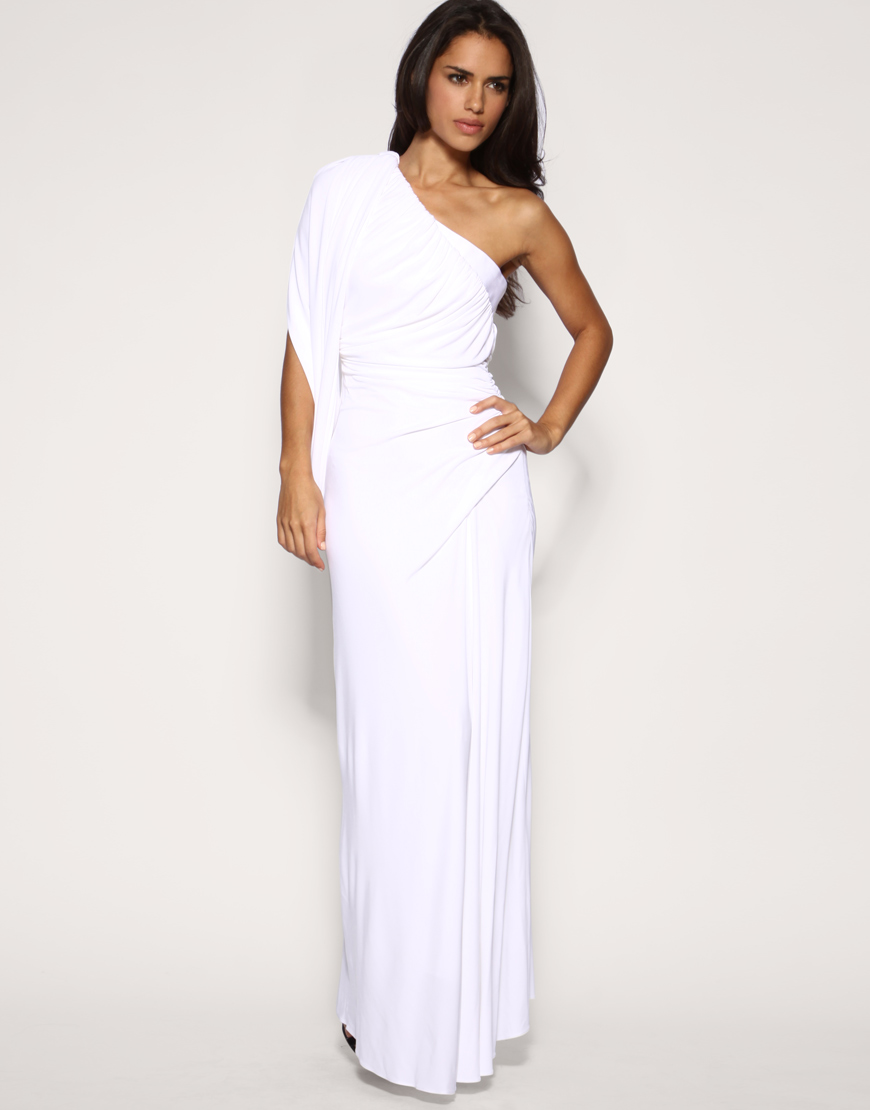 White Strapless Maxi Dress | Dress images