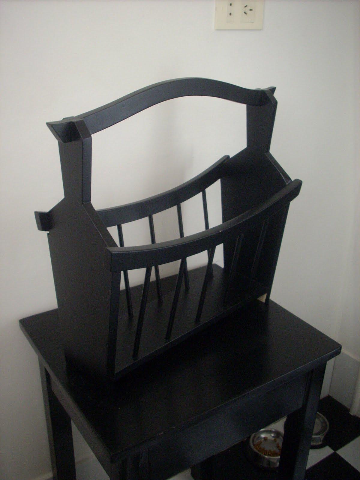 Cositas vintage muebles reciclados revistero estilo - Muebles reciclados vintage ...
