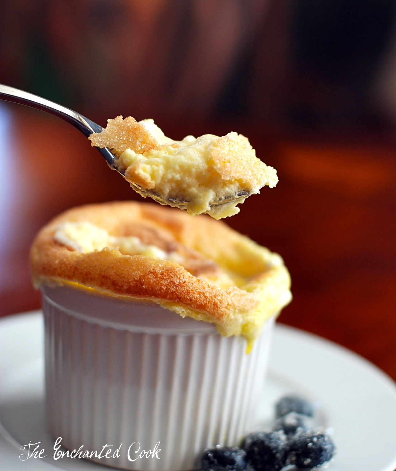 ... Cook: {Falling in Love with Lebovitz} Sweet Goat Cheese Souffles