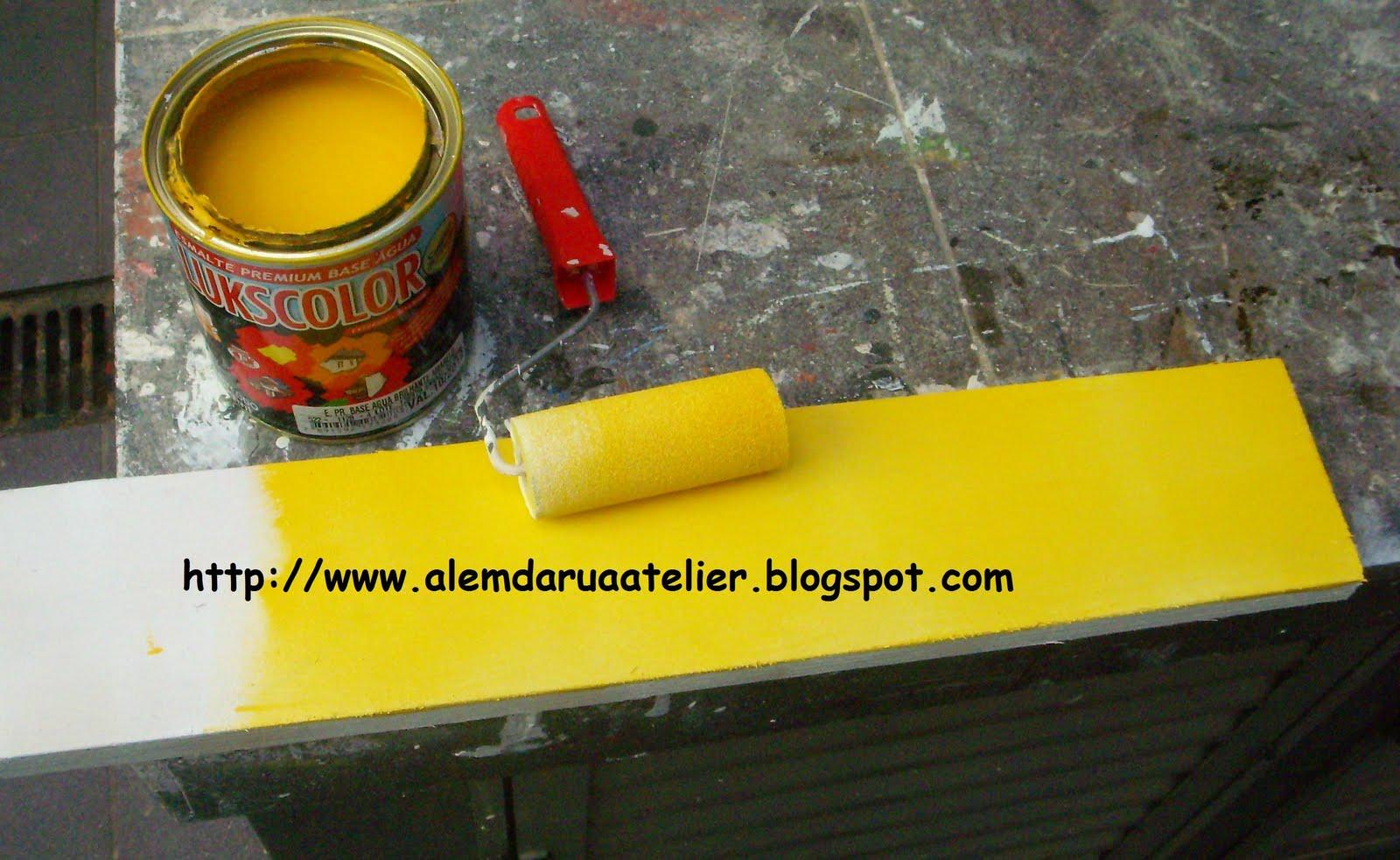 Como pintar um criado mudo de madeira com passo a passo – Além da  #C1980A 1600x982