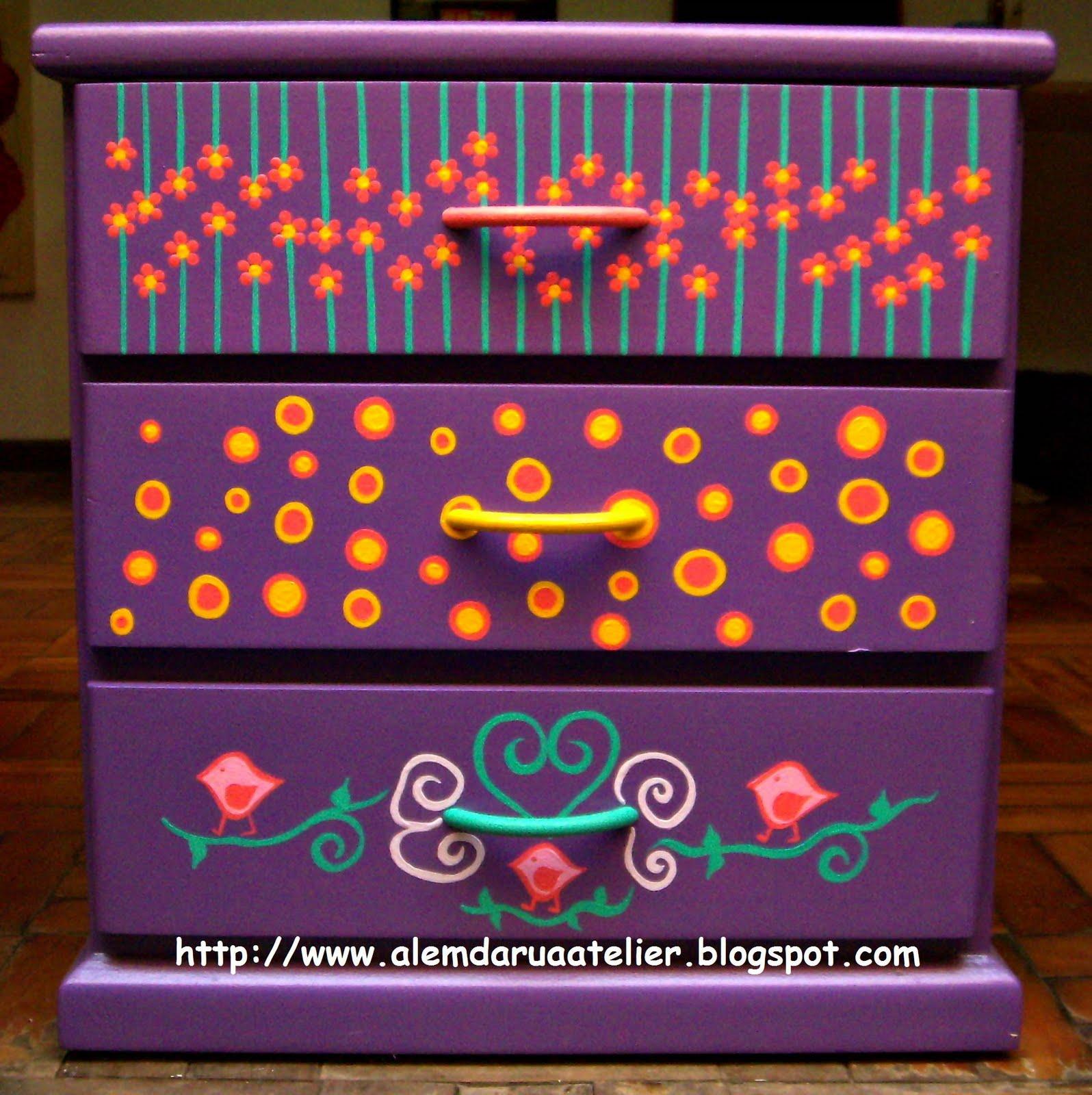 Idéias para customização de móveis! Tudo lindo e colorido como a  #BE5A0D 1596x1600