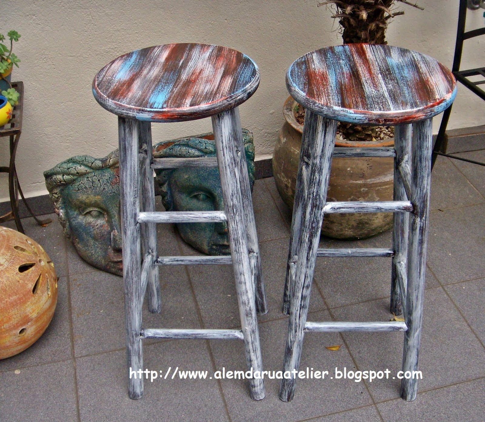 de móveis   pátina envelhecida em bancos de madeira3.JPG #4C687F 1600x1392