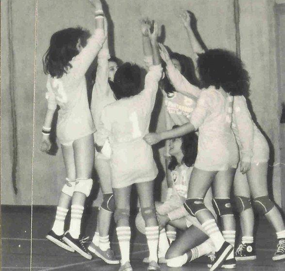La squadra di pallavolo femminile de il baggese 1998!