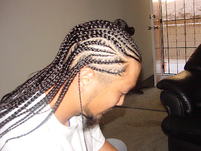 Asian Cornrows