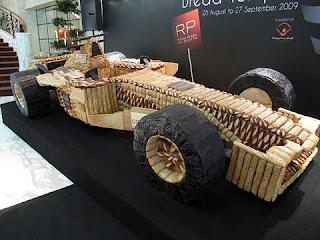 Bread F1 Car Unique