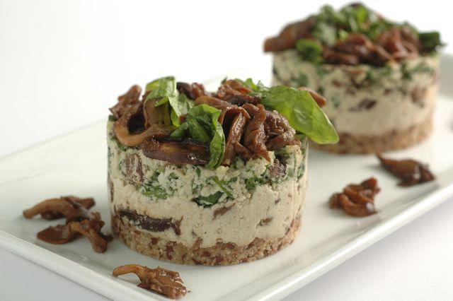 ... with Mushroom Gravy and for dessert, Chocolate Ice Cream Sundaes