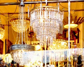 Glass and Chandeliers
