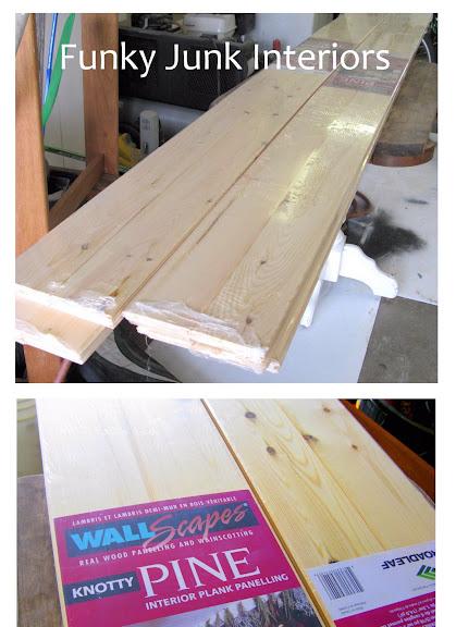 pine planks