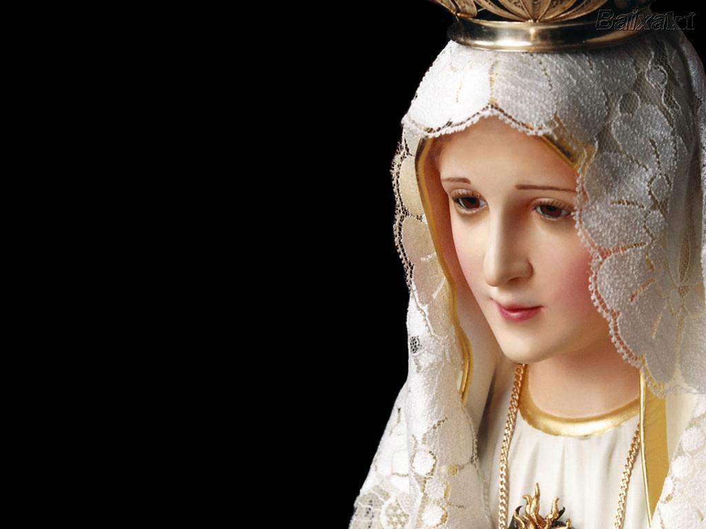Papeis De Parede Em Homenagem A Maria M  E De Deus