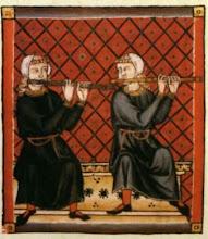 Flautistas medievales